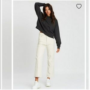 NWT Levi's Wedgie High Rise Straight Corduroy